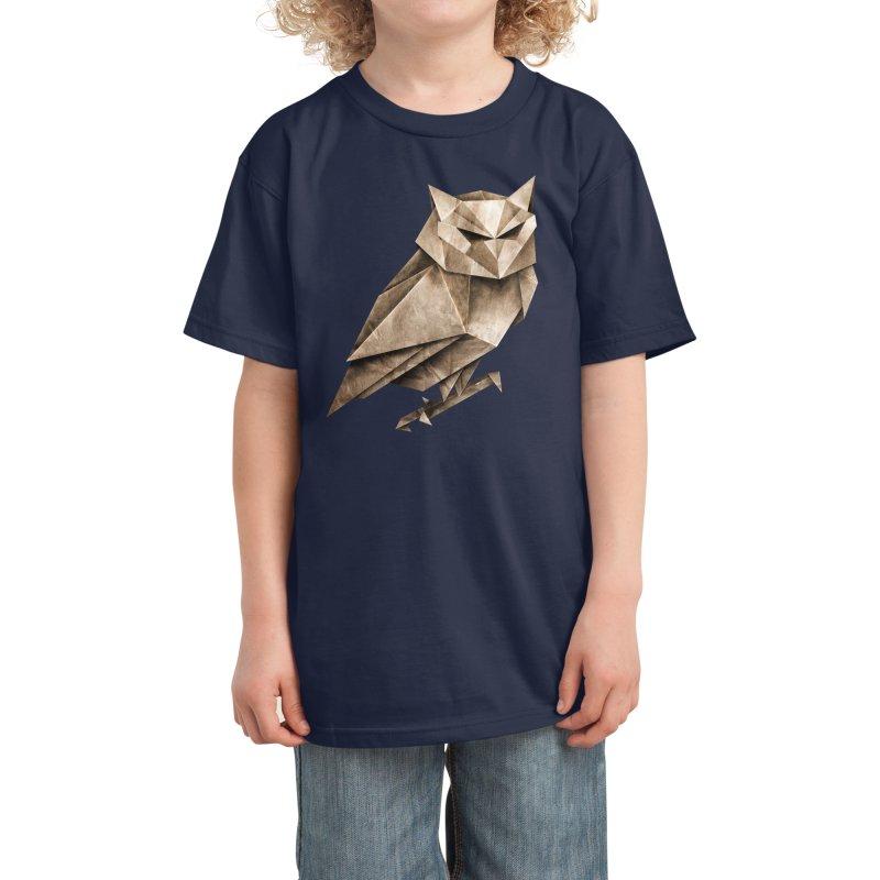 Owligami Kids T-Shirt by Threadless Artist Shop