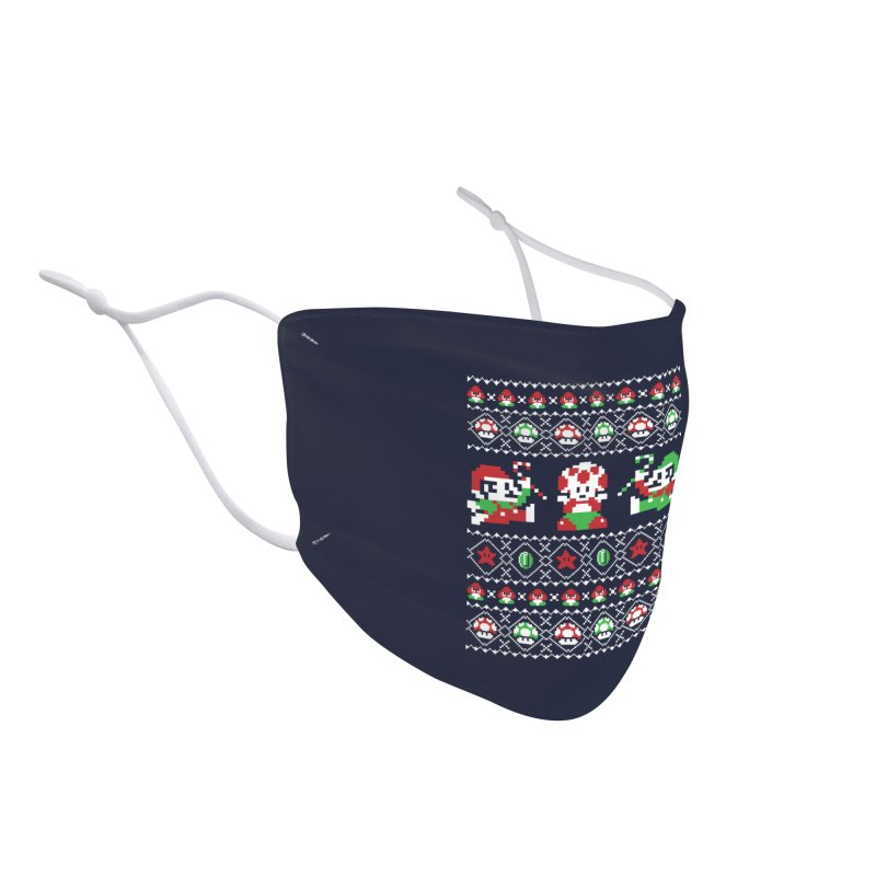 Super Christmas Bros Accessories Face Mask by Threadless Artist Shop