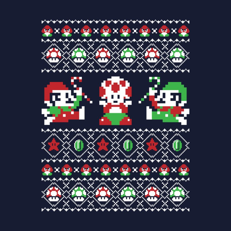 Super Christmas Bros Men's T-Shirt by Threadless Artist Shop
