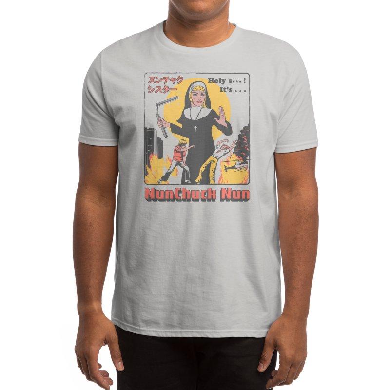 Nunchuck Nun Men's T-Shirt by Threadless Artist Shop