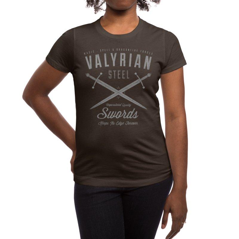 Magic, Spell & Dragonfire Forged Women's T-Shirt by Threadless Artist Shop