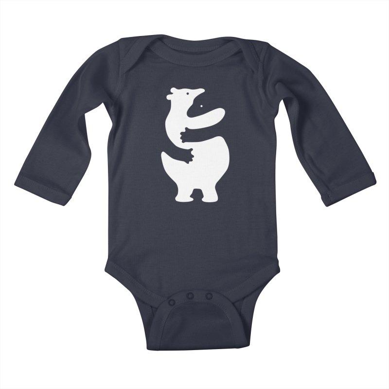 Huggers Kids Baby Longsleeve Bodysuit by Threadless Artist Shop