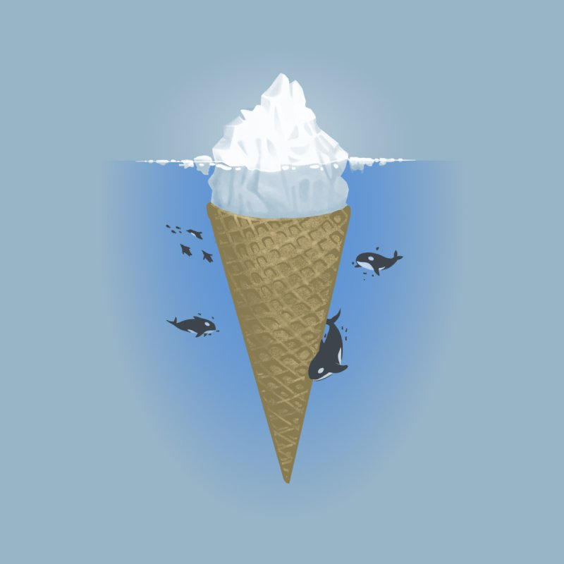 Hidden Part of Icebergs Men's T-Shirt by Threadless Artist Shop
