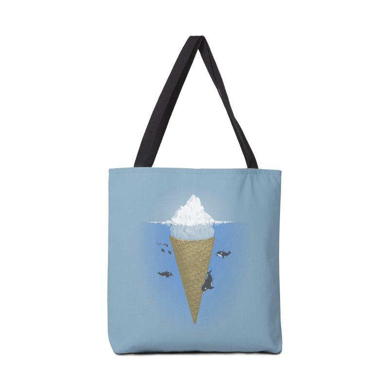 Hidden Part of Icebergs Accessories Bag by Threadless Artist Shop