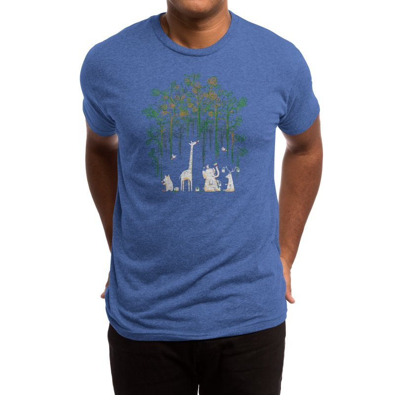 Meanwhile In The Woods Men's T-Shirt by Threadless Artist Shop