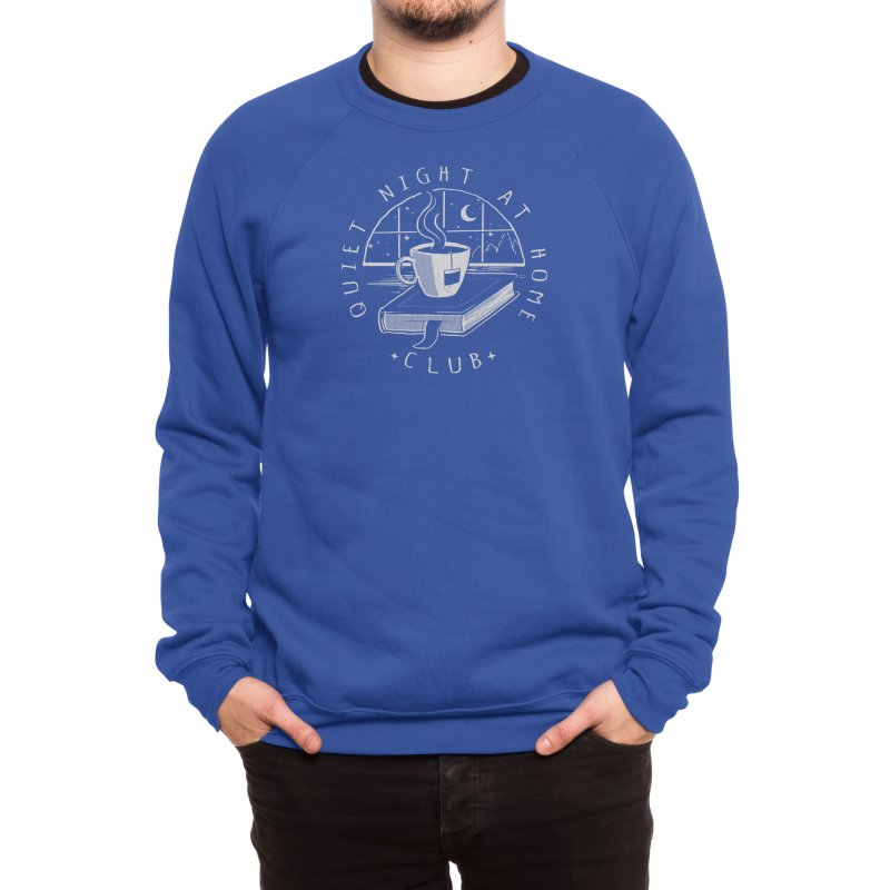 Quiet Night Men's Sweatshirt by Threadless Artist Shop