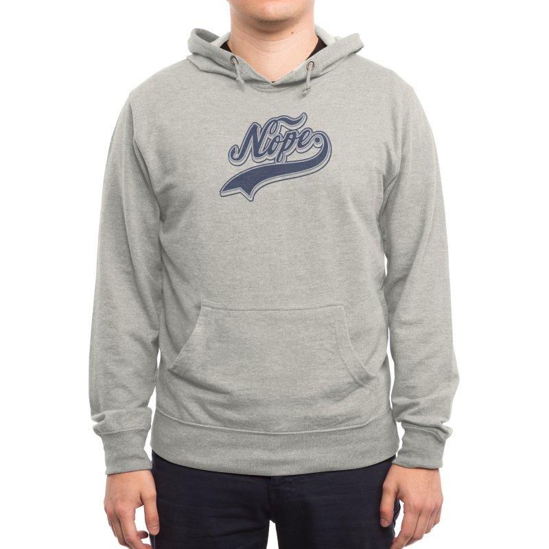 NOPE. Men's Pullover Hoody by Threadless Artist Shop