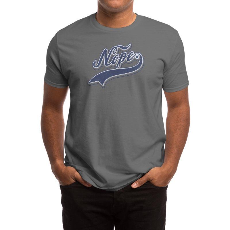 NOPE. Men's T-Shirt by Threadless Artist Shop