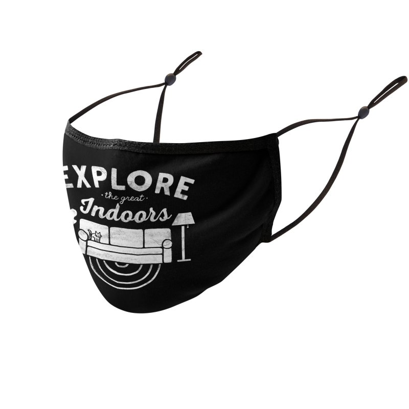 The Great Indoors Accessories Face Mask by Threadless Artist Shop