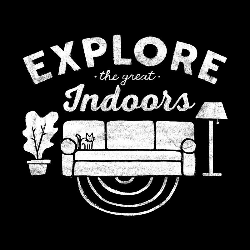 The Great Indoors Kids T-Shirt by Threadless Artist Shop