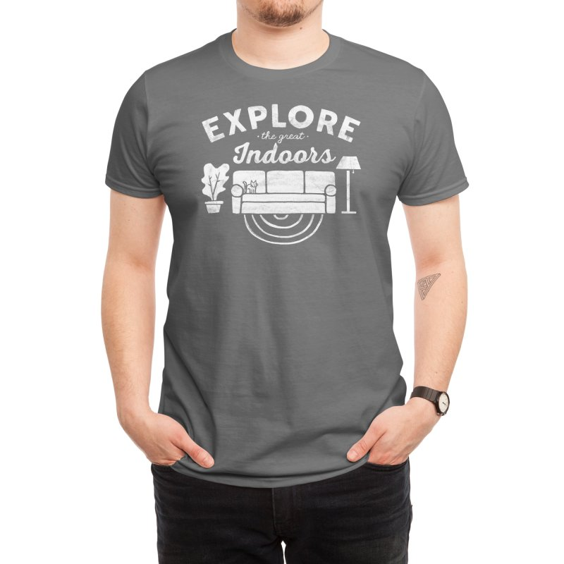 The Great Indoors Men's T-Shirt by Threadless Artist Shop