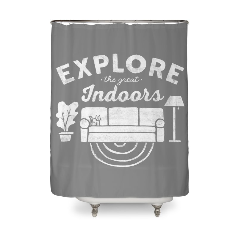 The Great Indoors Home Shower Curtain by Threadless Artist Shop