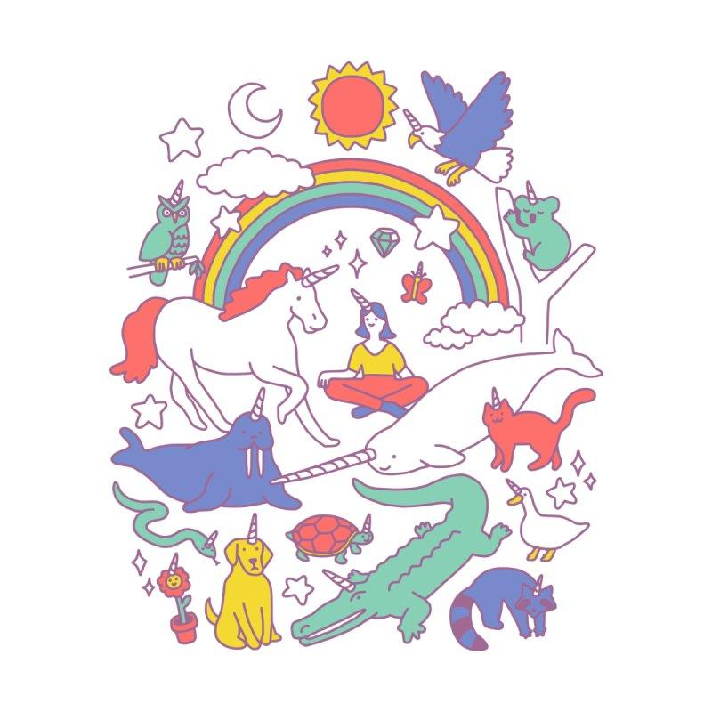 Unicorns! Kids Baby Zip-Up Hoody by Threadless Artist Shop