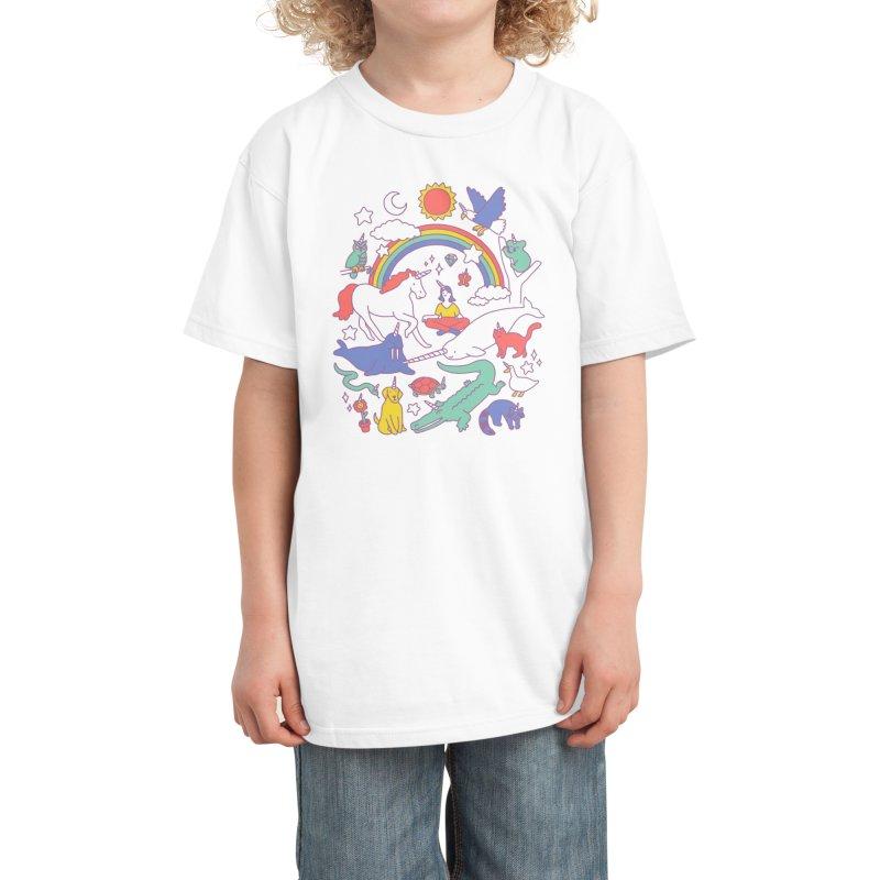 Unicorns! Kids T-Shirt by Threadless Artist Shop