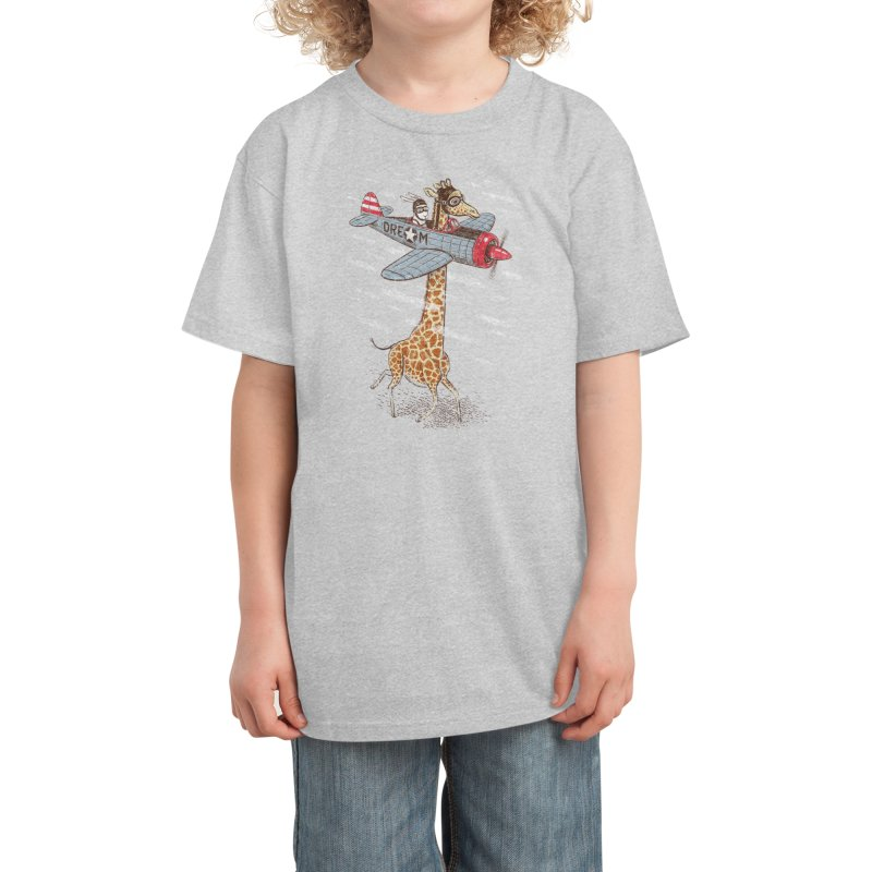 Let your dream fly Kids T-Shirt by Threadless Artist Shop