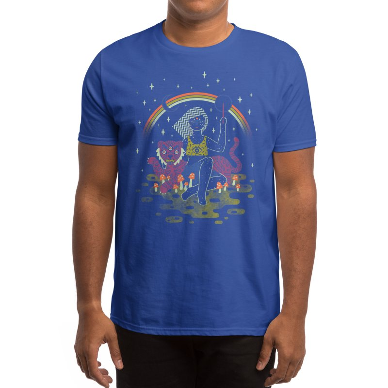 Psychedelic Sorceress Men's T-Shirt by Threadless Artist Shop