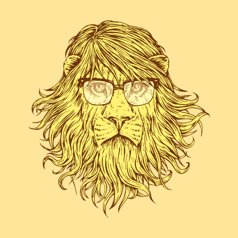 Lions Are Smarter Than I Am Kids T-Shirt by Threadless Artist Shop