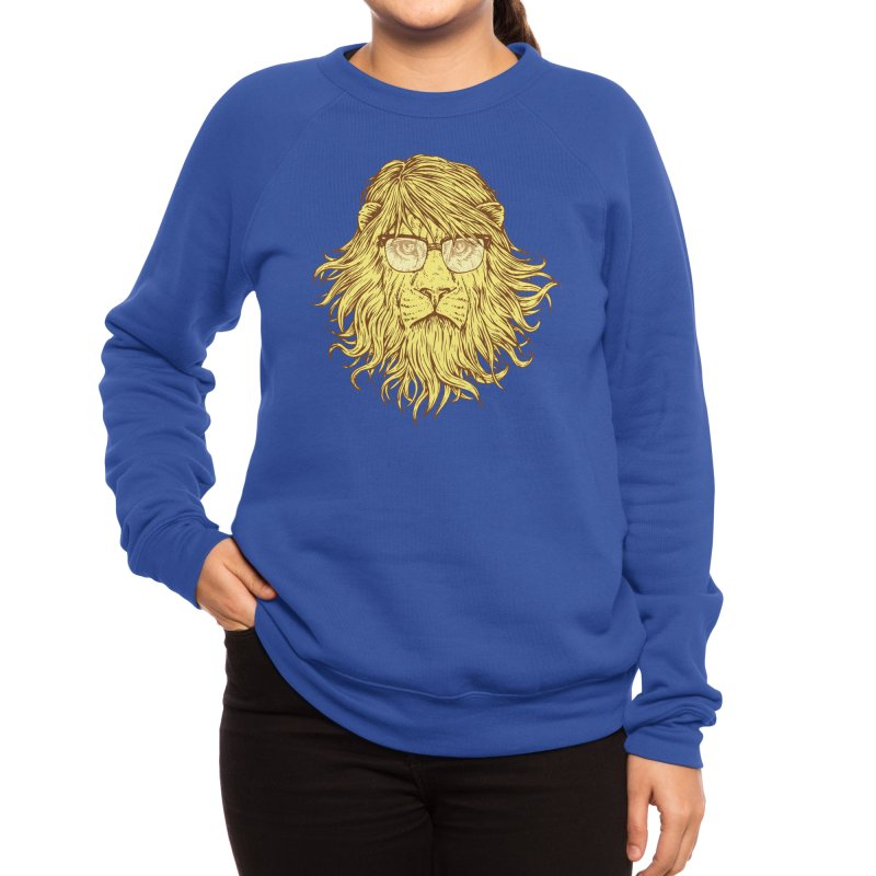 Lions Are Smarter Than I Am Women's Sweatshirt by Threadless Artist Shop