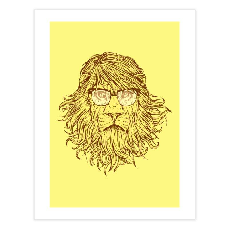 Lions Are Smarter Than I Am Home Fine Art Print by Threadless Artist Shop