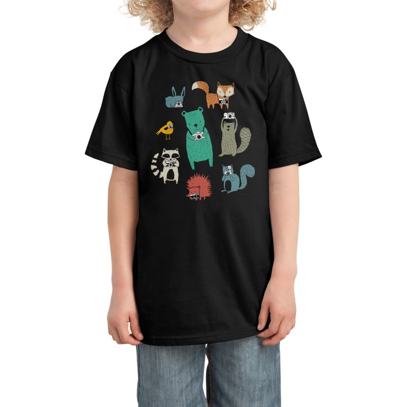 Wildlife Observation Kids T-Shirt by Threadless Artist Shop