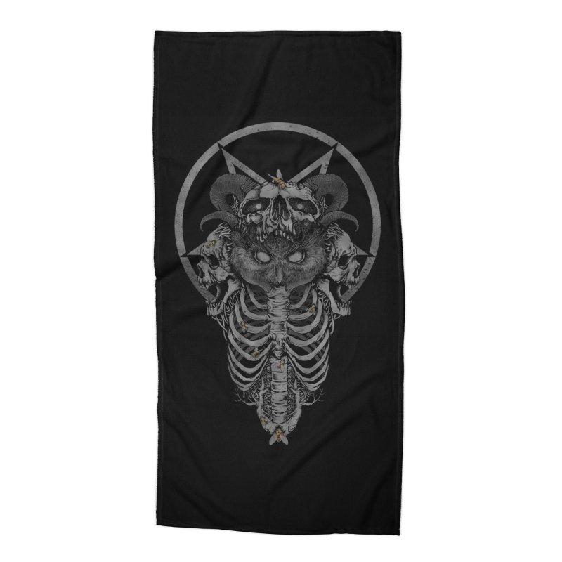 Dark Owl Accessories Beach Towel by Threadless Artist Shop