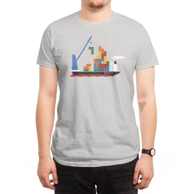 Russian Cargo Men's T-Shirt by Threadless Artist Shop