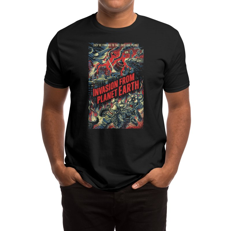 Invasion from planet Earth Men's T-Shirt by Threadless Artist Shop