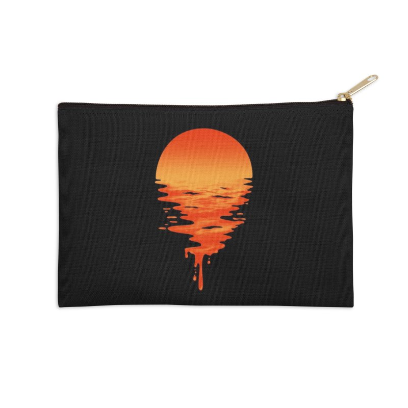 Sunset 6 Accessories Zip Pouch by Threadless Artist Shop