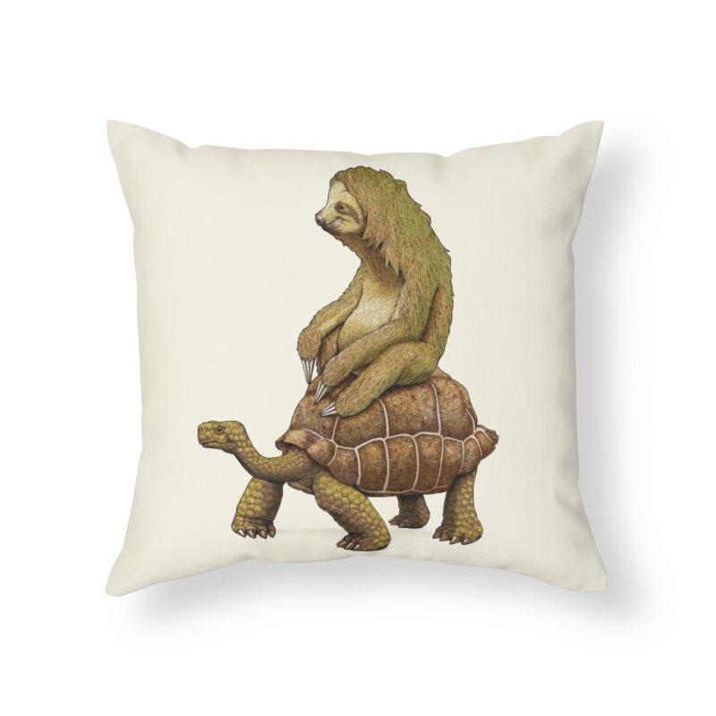 Speed is Relative Home Throw Pillow by Threadless Artist Shop