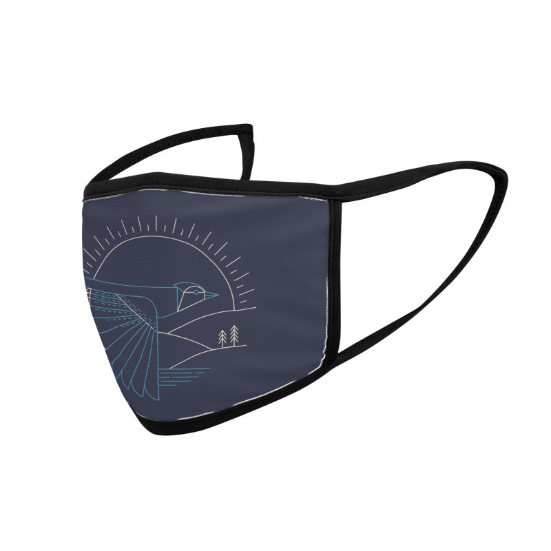 Blue Jay Accessories Face Mask by Threadless Artist Shop