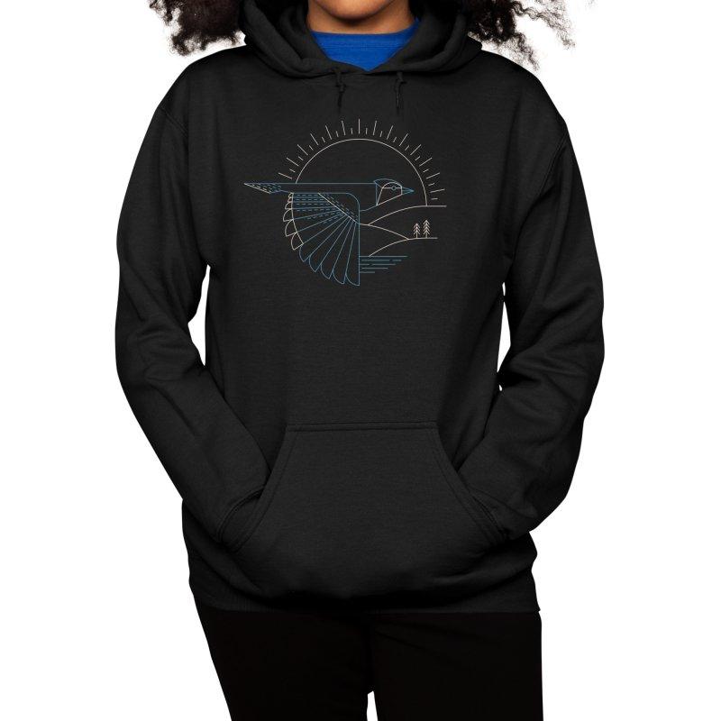 Blue Jay Women's Pullover Hoody by Threadless Artist Shop