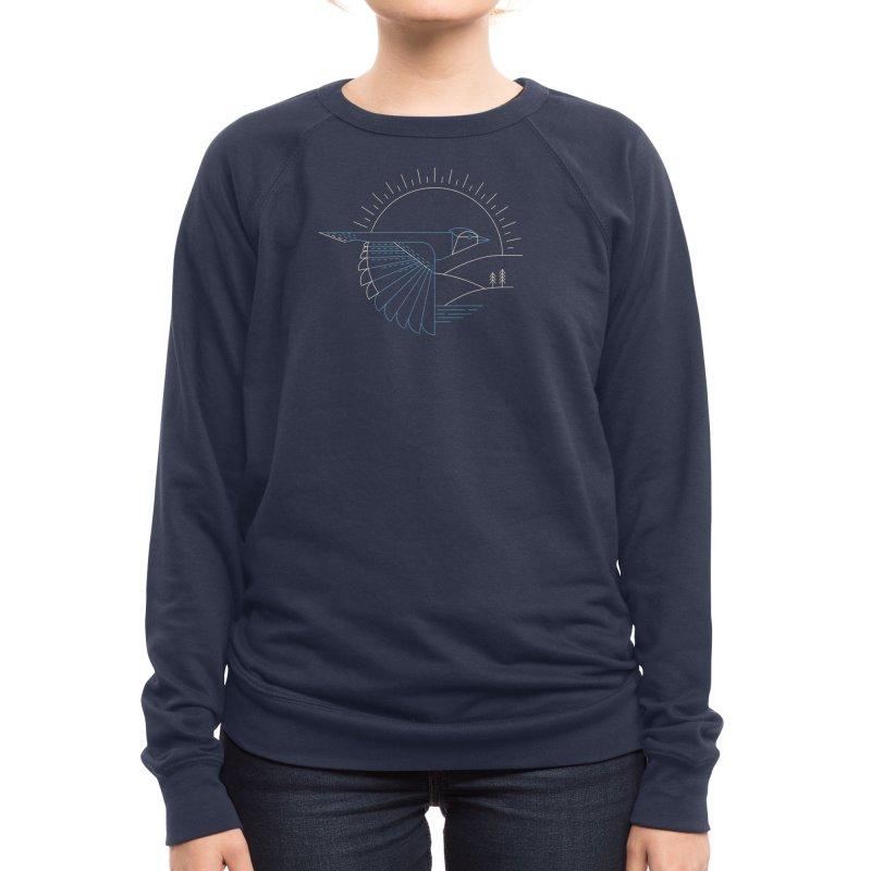 Blue Jay Women's Sweatshirt by Threadless Artist Shop