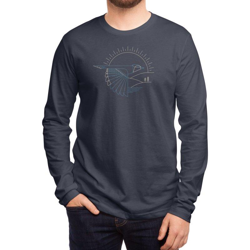 Blue Jay Men's Longsleeve T-Shirt by Threadless Artist Shop
