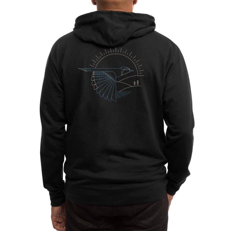 Blue Jay Men's Zip-Up Hoody by Threadless Artist Shop