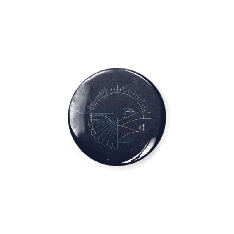 Blue Jay Accessories Button by Threadless Artist Shop