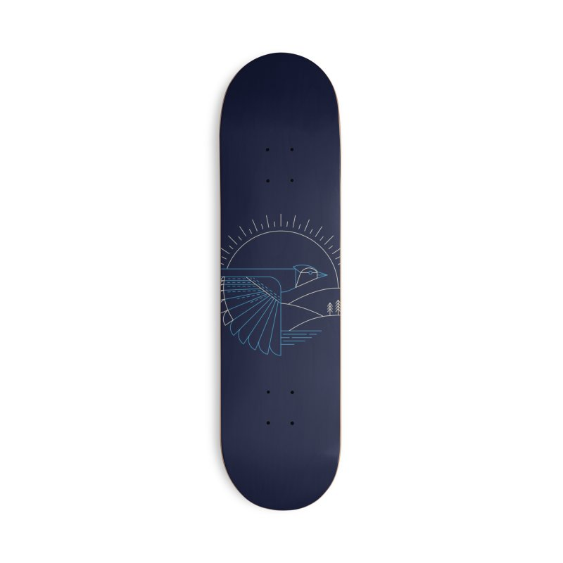 Blue Jay Accessories Skateboard by Threadless Artist Shop
