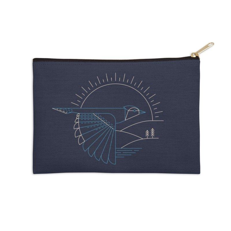 Blue Jay Accessories Zip Pouch by Threadless Artist Shop