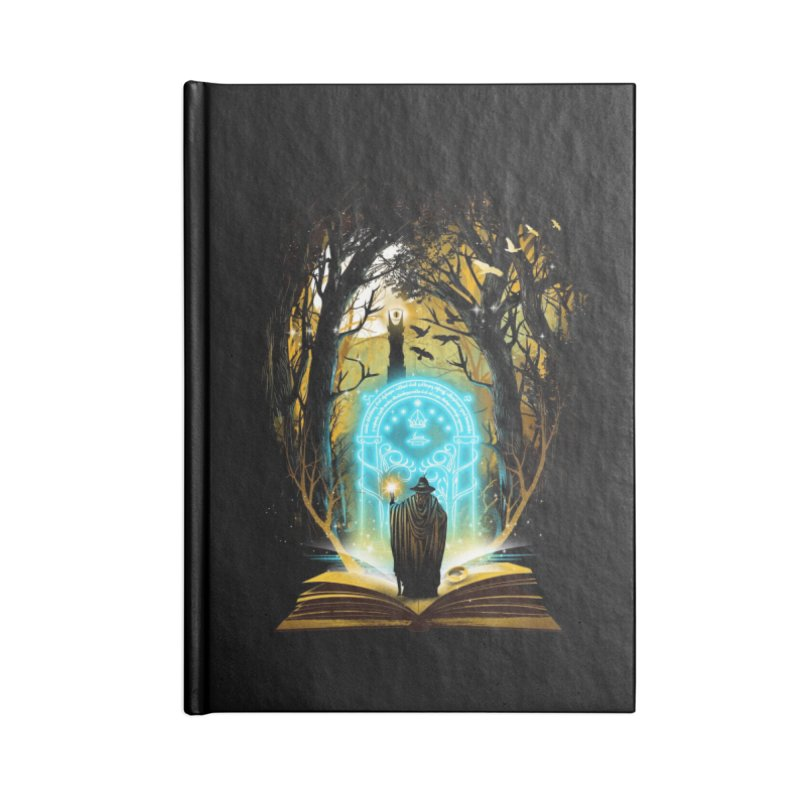 Book of Magic and Adventures Accessories Notebook by Threadless Artist Shop