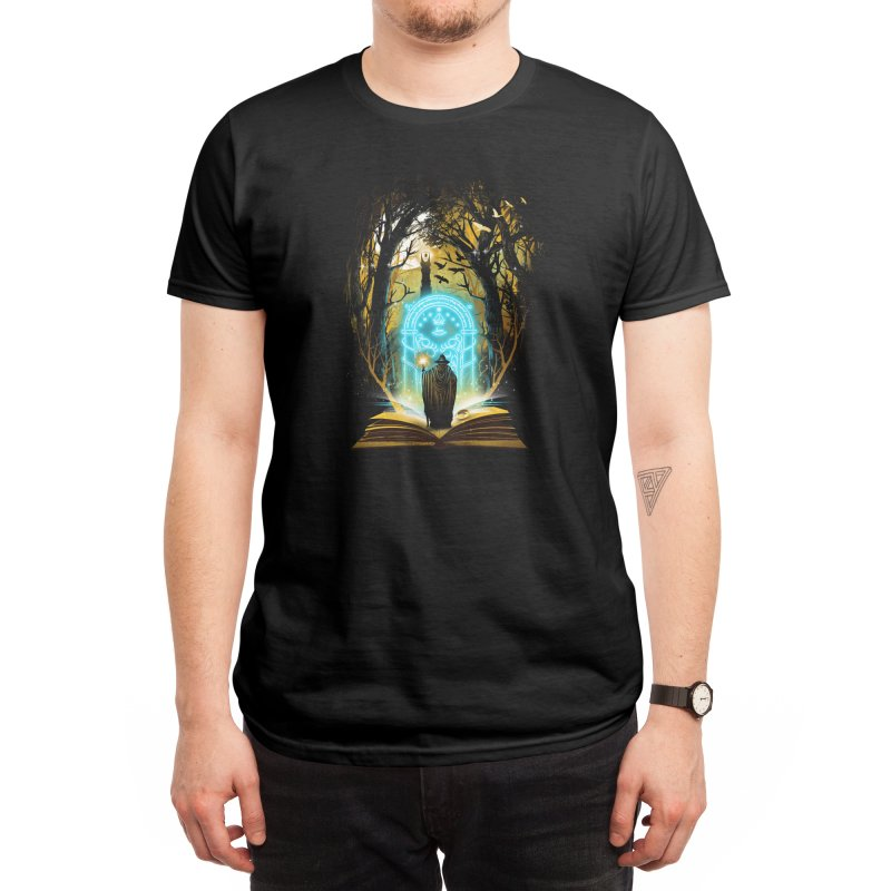 Book of Magic and Adventures Men's T-Shirt by Threadless Artist Shop