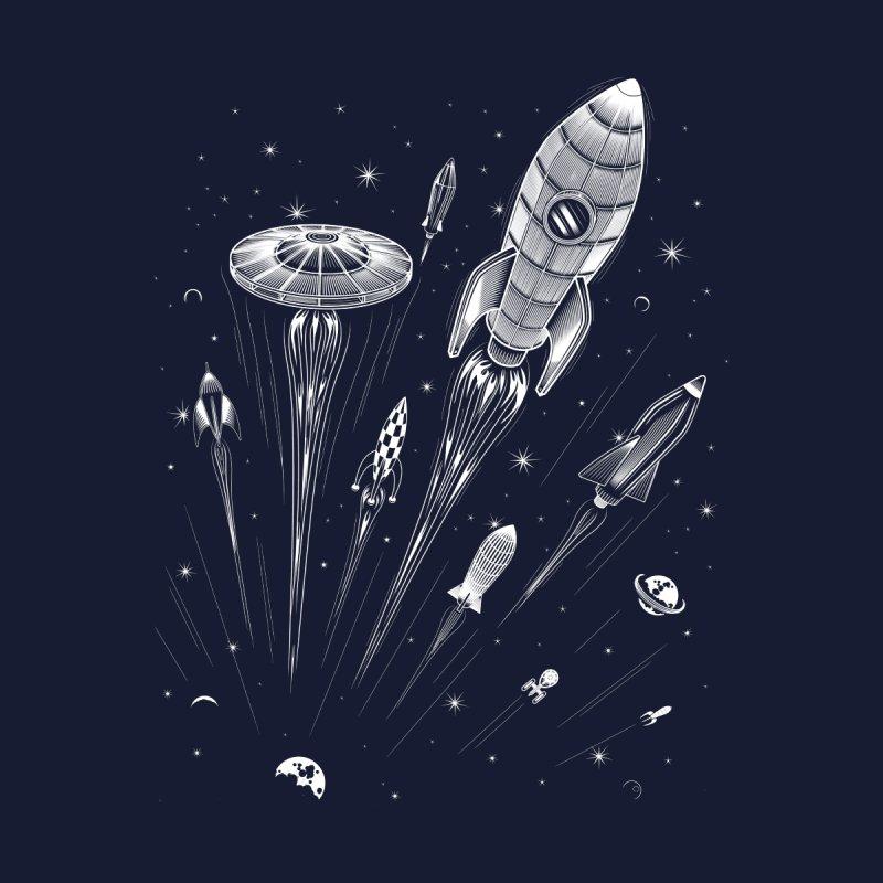 Space Race Men's T-Shirt by Threadless Artist Shop