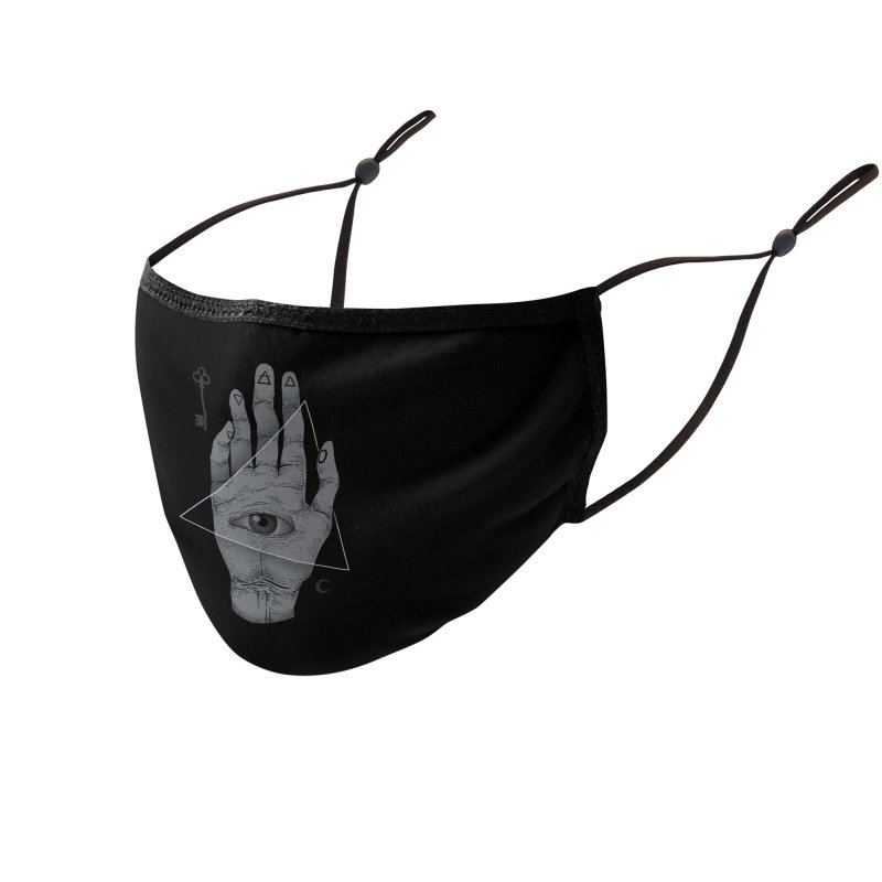 Witch Hand Accessories Face Mask by Threadless Artist Shop