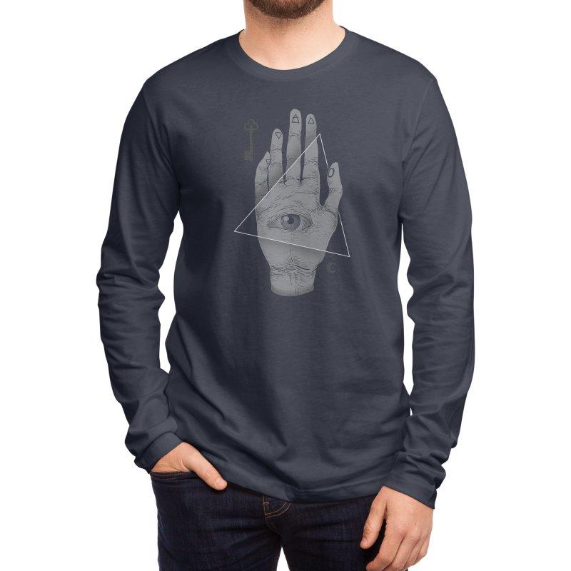 Witch Hand Men's Longsleeve T-Shirt by Threadless Artist Shop