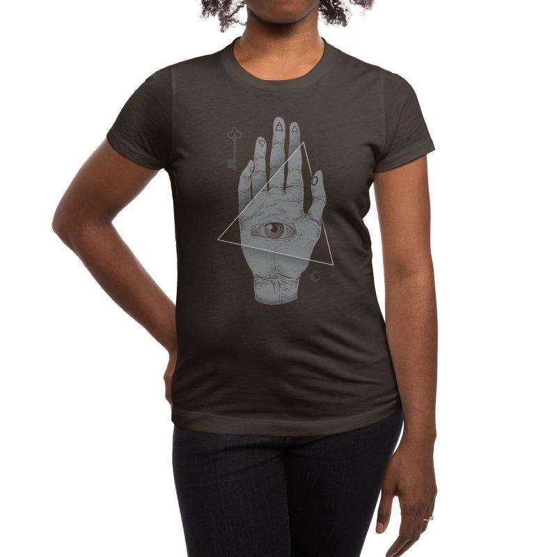 Witch Hand Women's T-Shirt by Threadless Artist Shop