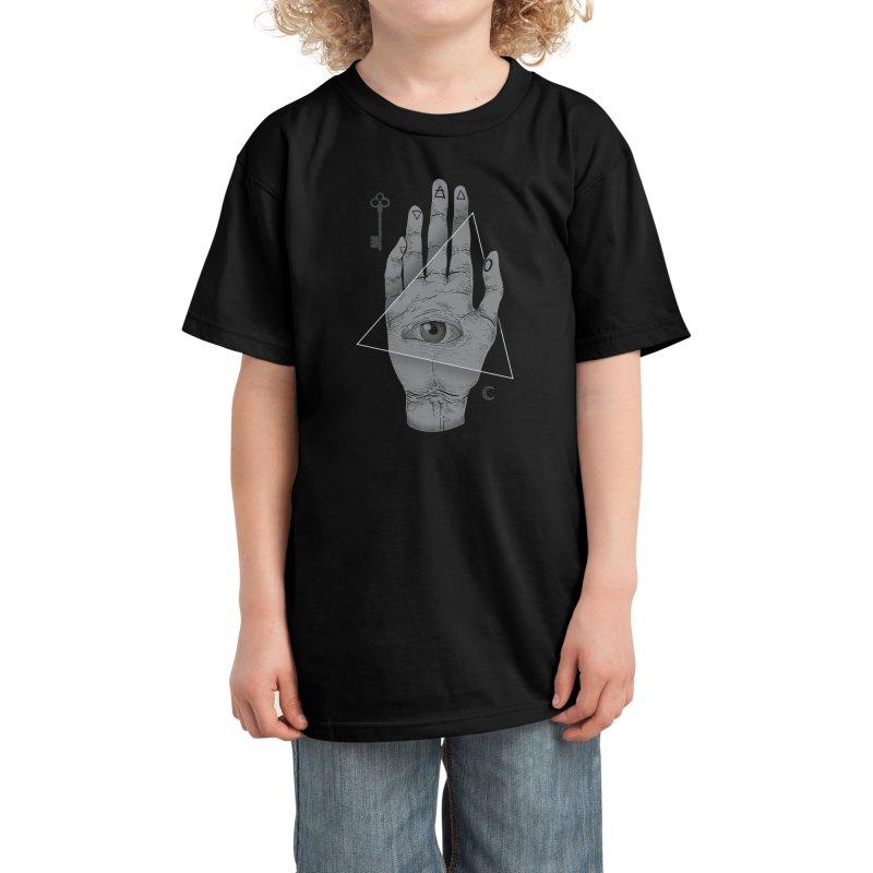 Witch Hand Kids T-Shirt by Threadless Artist Shop