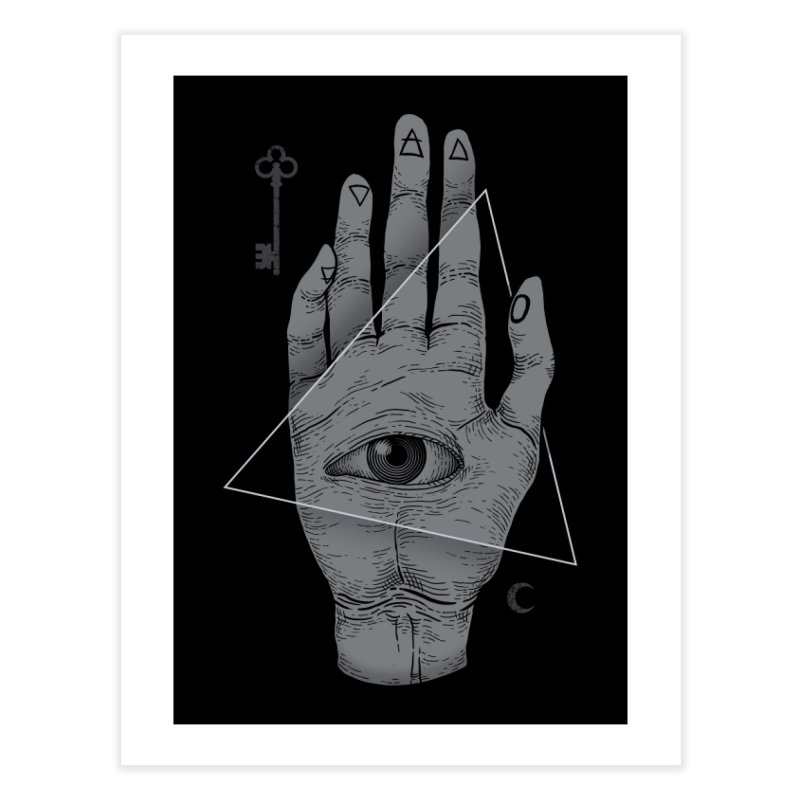 Witch Hand Home Fine Art Print by Threadless Artist Shop
