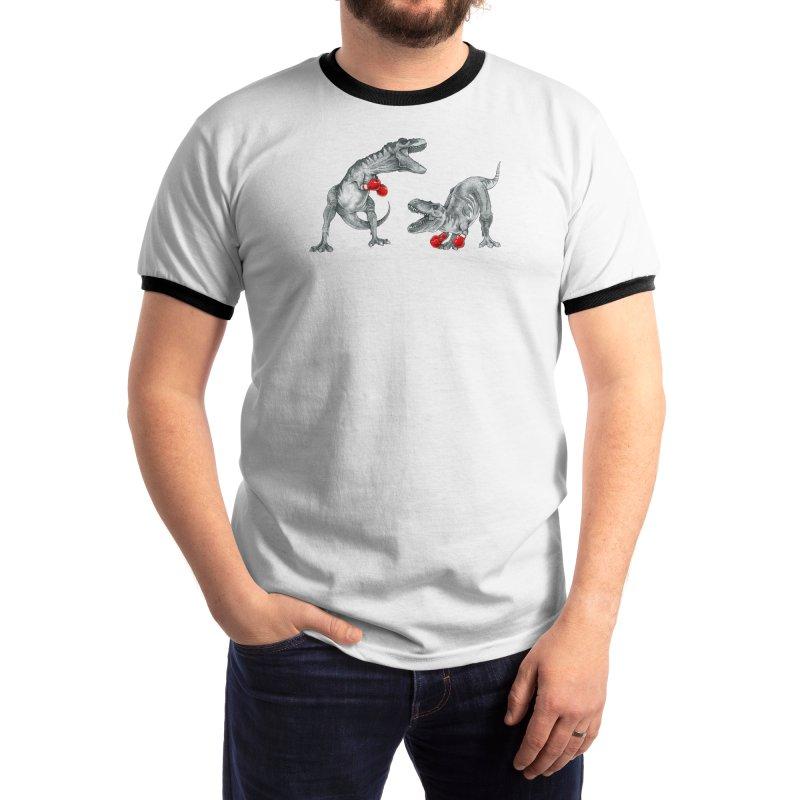T-Rex Boxing Men's T-Shirt by Threadless Artist Shop