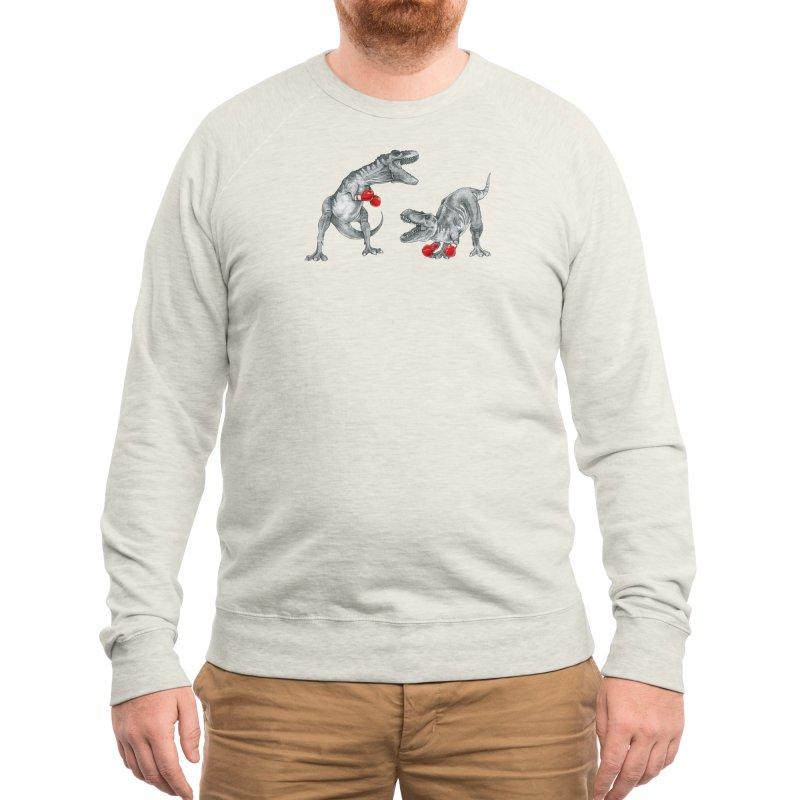 T-Rex Boxing Men's Sweatshirt by Threadless Artist Shop