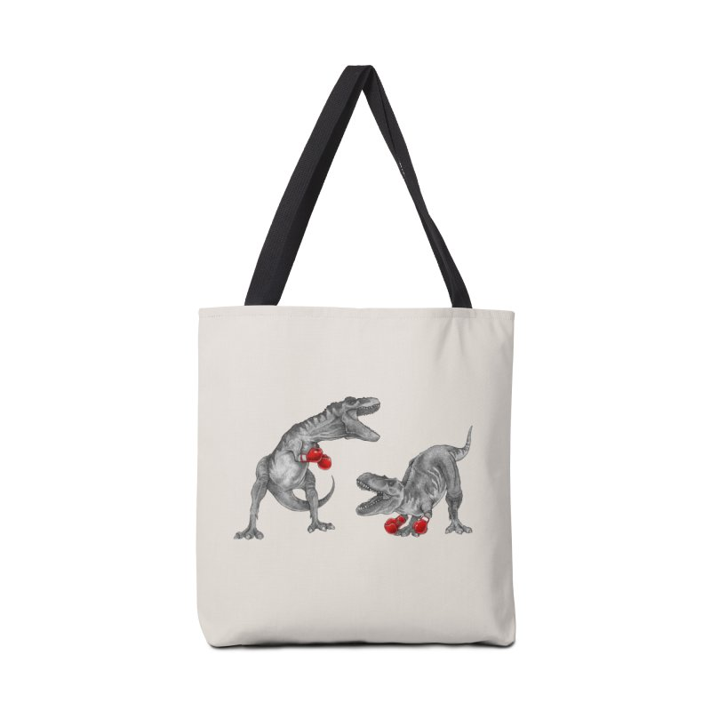 T-Rex Boxing Accessories Bag by Threadless Artist Shop