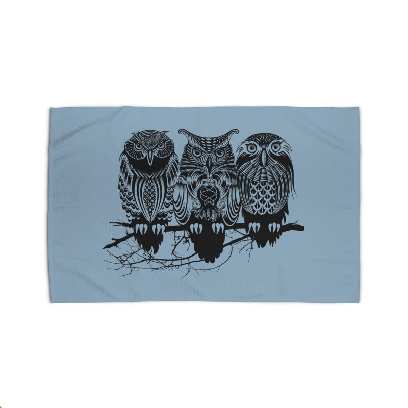 Owls of the Nile Home Rug by Threadless Artist Shop