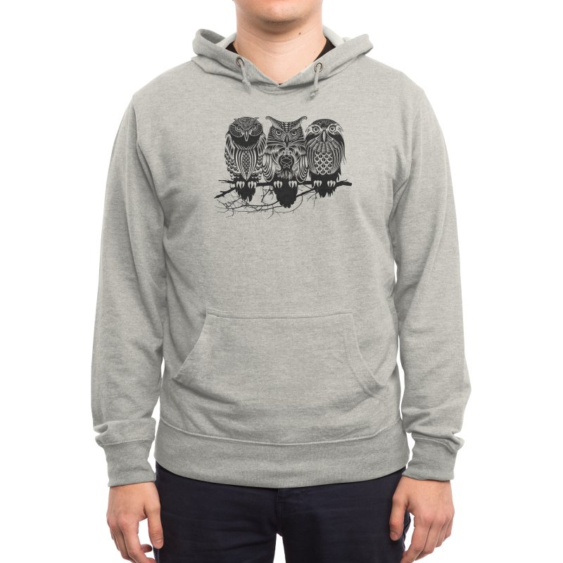 Owls of the Nile Men's Pullover Hoody by Threadless Artist Shop